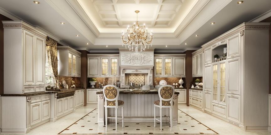 Классические кухни в Kitchen House в Алматы